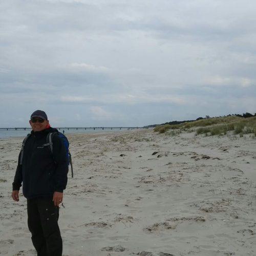 Erster Strandgang
